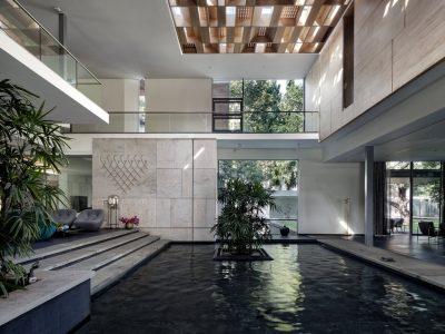 Aqua Grid House