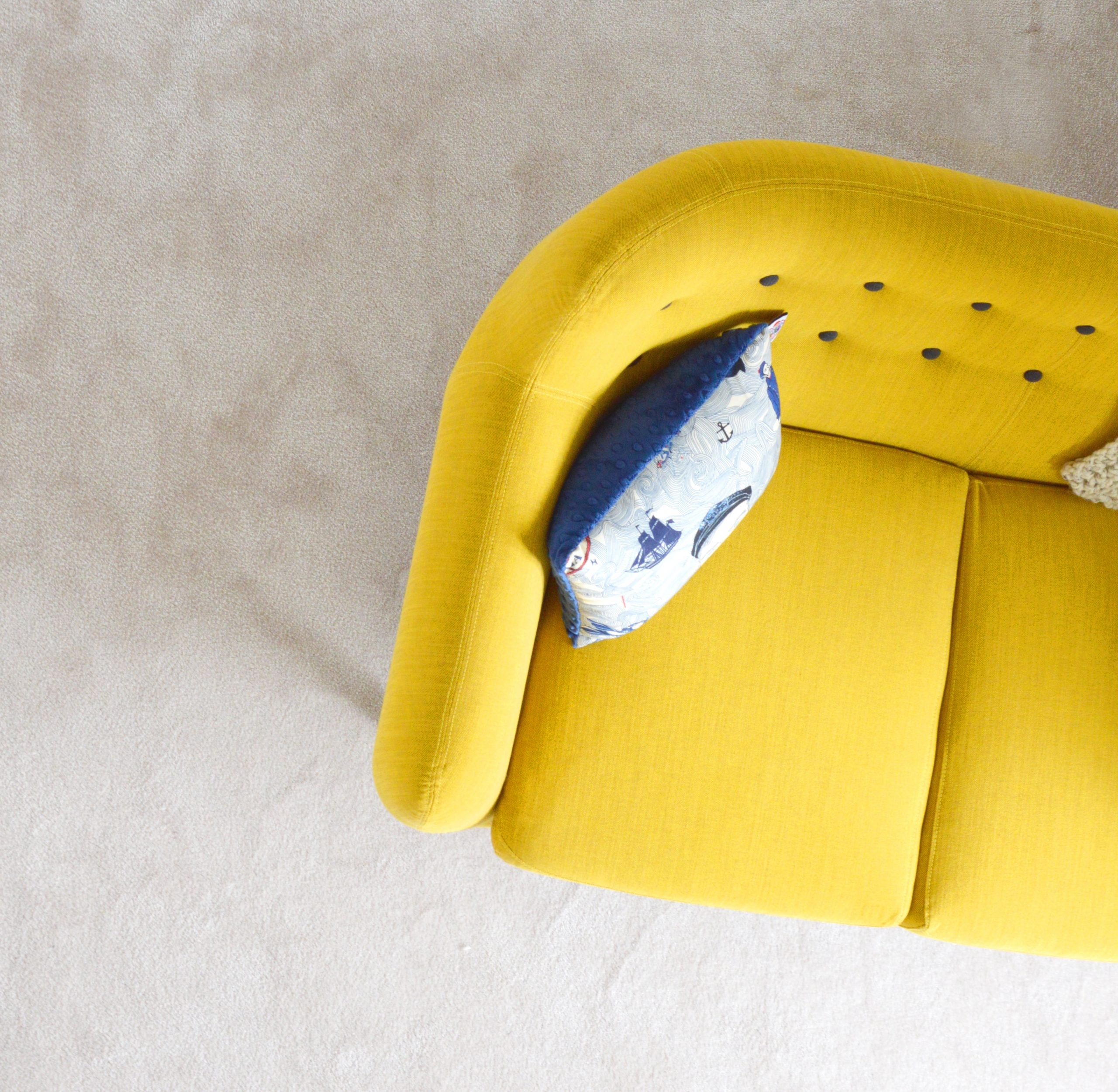 modern curved sofa design