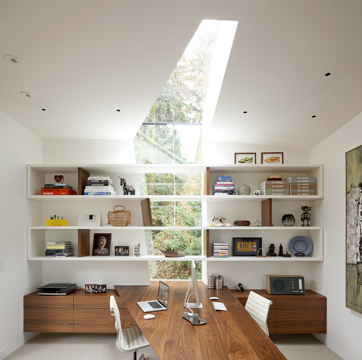 unusual home office layout
