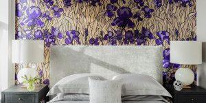 Wallpaper ideas for a bedroom