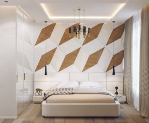 geometric bedroom inspiration