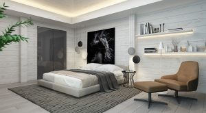 accent wall designs for bedroom