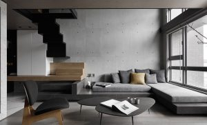 exposed concrete design